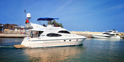 oman yacht charter