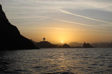Sunset and Coastal Cruise